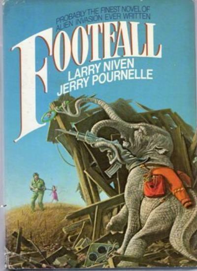 Footfall By Larry Niven, Jerry Pournelle. 9780575036901