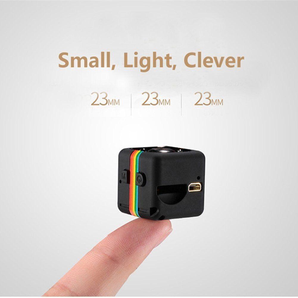 Mini 1080P Spy IR Caméra Espion Caché Caméscope Détection Mouvement Nuit Vision