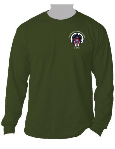 505th Parachute Infantry Regiment Long-Sleeve Cotton Shirt-1808