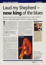 Kenny Wayne Shepherd UK Guitarist Interview Clipping OBLIQUE