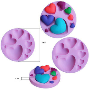 3D-Heart-Lace-Shaped-Silicone-Fondant-Mold-Chocolate-Sugarcraft-Cutter-Mould