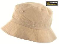 Mens Sun Hat Cap Bucket Outdoor Travel Holiday Festival Fishing Cap Beige S-XL