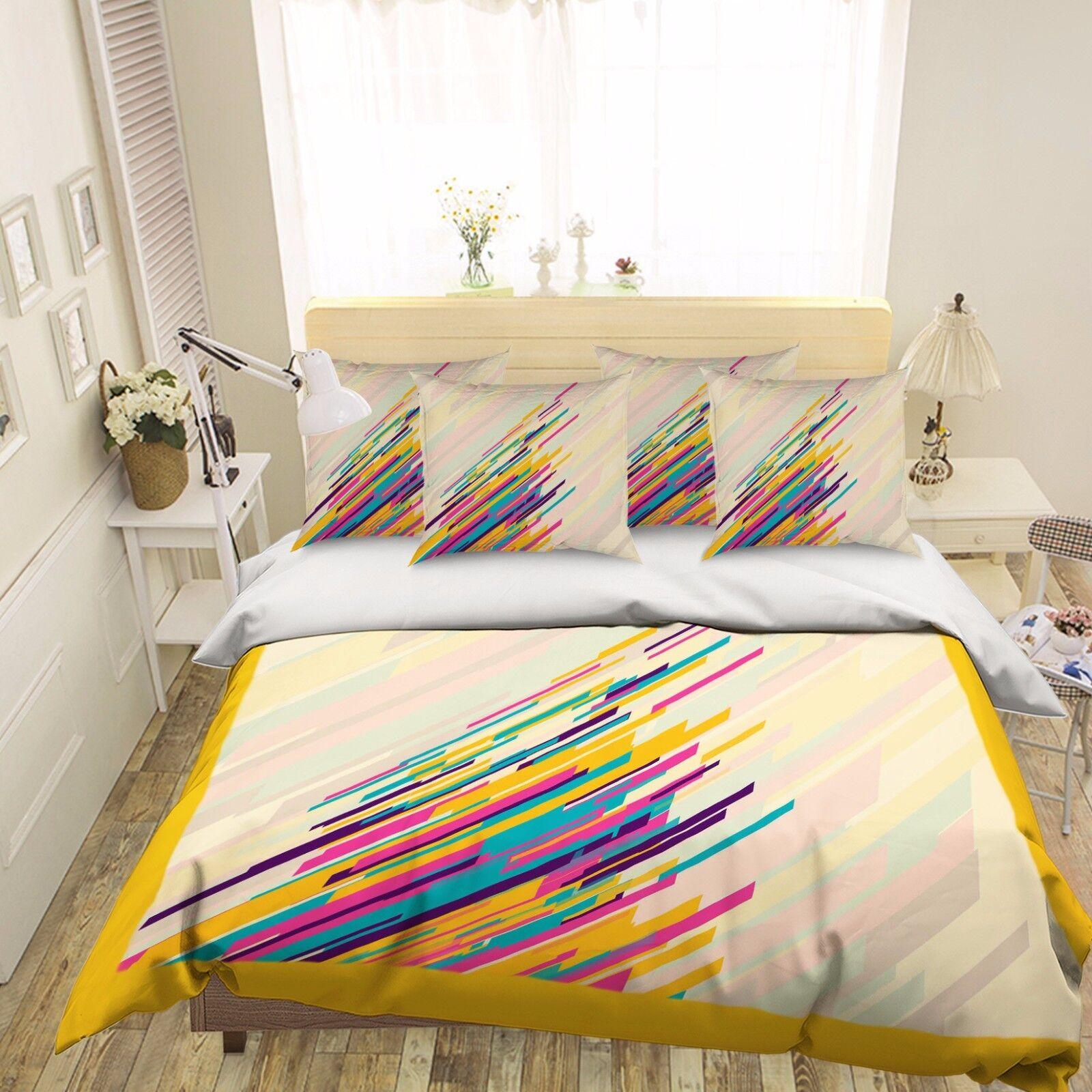 3D Creative Artwork 421  Bed Pillowcases Quilt Duvet Cover Set Single Queen CA
