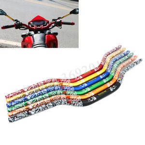 1-1-8-039-039-28mm-Guidon-Guidon-Motocross-Enduro-Supermoto-Pit-Bike-VTT