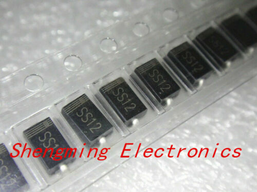 2000PCS SMA Schottky diode 1N5819 SS14 1N5822 SS34 SR160 SS16 1N5817 DO-214AC