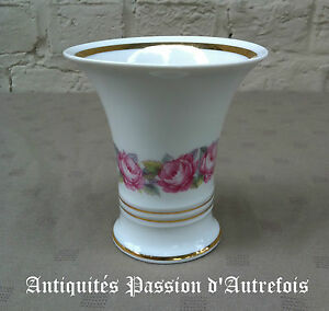 Le Meilleur B20151839 - Petit Vase En Porcelaine Freiberger - 10,5 Cm - Très Bon état