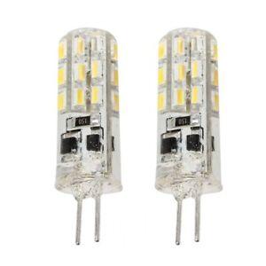 2-x-Ampoules-Lampe-G4-24-SMD-3014-LED-Lumiere-Blanc-chaud-1-5W-12V-DC-T9U2