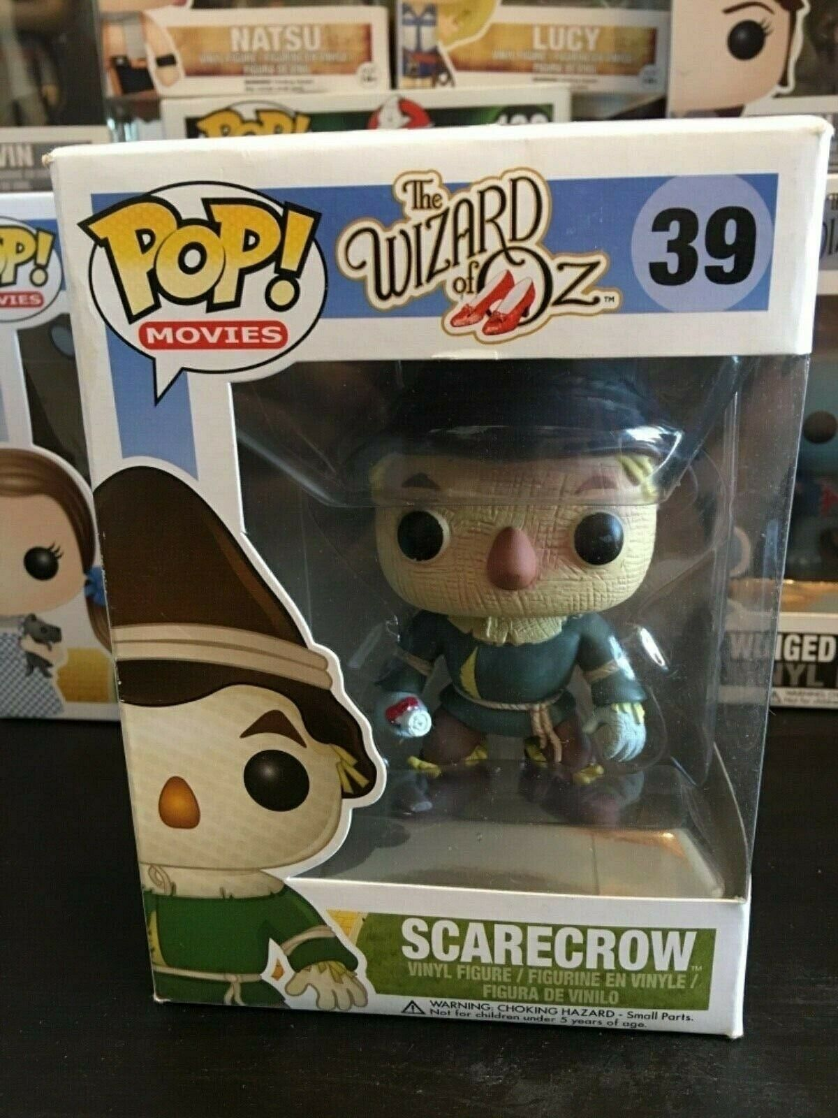 FUNKO POP WIZARD OF OZ SCocheECROW 39 NEW
