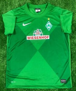 best loved 84d0b 8a6b4 WERDER BREMEN 2012/2013 HOME FOOTBALL SOCCER JERSEY TRIKOT NIKE BOYS ...