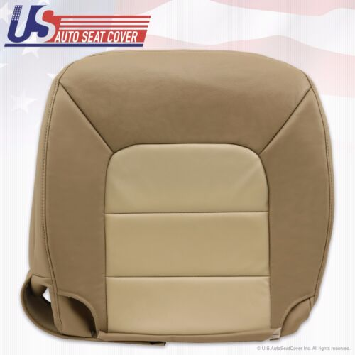 2006 Expedition Eddie-Bauer Driver /& Passenger Bottom Leather Seat Cover 2-Tone