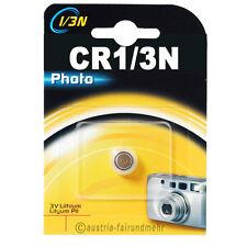 """ CR1/3N Lithium Foto-Batterie DURACELL Photo 3V 2L76"