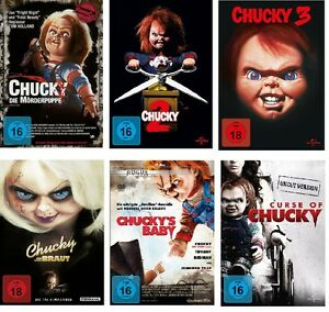 Chucky-1-6-DVD-Set-neu-deutsch-uncut-1-2-3-4-5-6-Curse-of-Braut-Baby-dvds