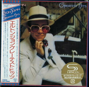 ELTON-JOHN-GREATEST-HITS-JAPAN-MINI-LP-SHM-CD-Ltd-Ed-G00