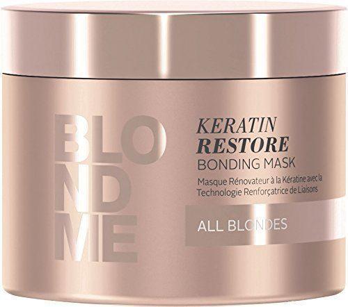 BLONDME Keratin Restore Bonding Mask for All Blondes, 6.76 Ounce