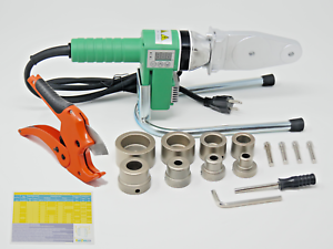110V Pipe Fusion Welding Tool w// Case /& 20 32 /& 40mm Sockets 25 PPR PE HDPE