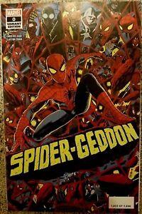 MARVEL Comics SPIDER-GEDDON #0 NM MONDO Francavilla Variant VENOM CARNAGE NYCC