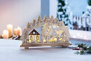Weihnachtsbeleuchtung Lichterbogen.Details Zu Schwibbogen Lichterbogen Fensterdeko Holz Led Winter Weihnachtsbeleuchtung Neu