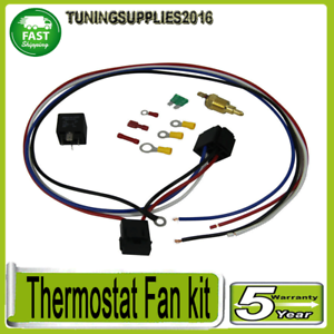 30-Amp-Electric-Thermostat-Fan-Sensor-Temperature-Switch-Wiring-Relay-Kits