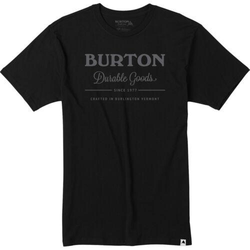 Burton Herren-Kurzarmshirt T-Shirt Mountain Script Clark Hopewell Durable Goods