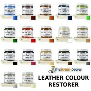Leather Dye Color Restorer. For Faded and Worn Leather Sofa Chair ...