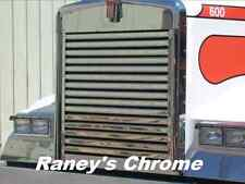 Kenworth W900L SS Hood Grill with Horizontal Bars