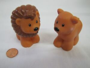 Fisher Price Little People FEMALE LION from ARK SET for ZOO Noah/'s Ark Safari