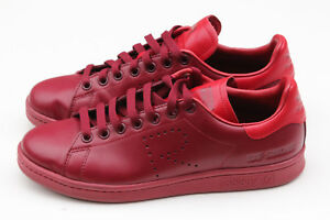 3ab883922d9 Image is loading Adidas-x-Raf-Simons-Stan-Smith-Burgundy-amp-