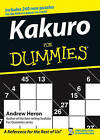 Kakuro For Dummies by Andrew Heron (Paperback, 2005)