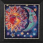 Sun and Moon Cross Stitch Kit Mill Hill 2018 Laurel Burch Celestial LB141813