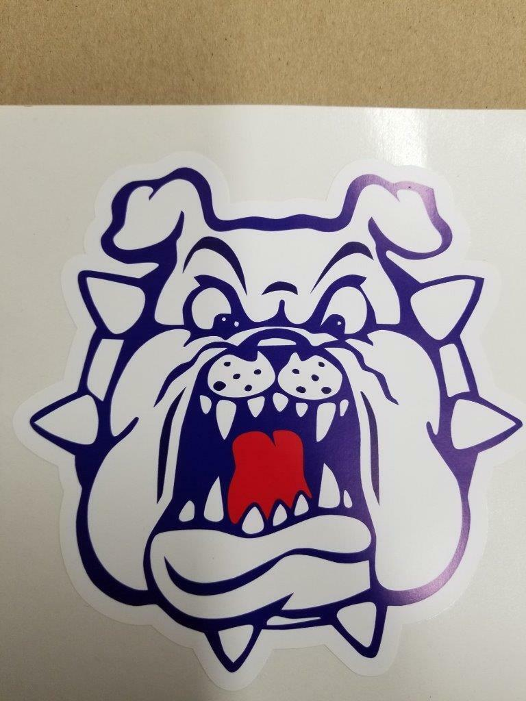 Fresno State Bulldogs cornhole board or vehicle decal(s) NCAA FSB6