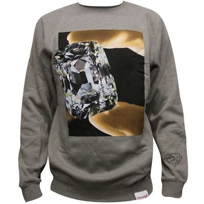 Diamond Supply Co Gem Sweatshirt Heather