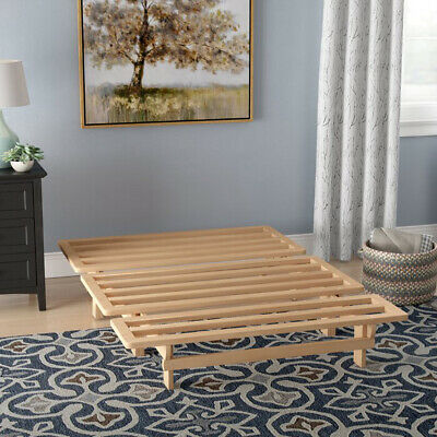 Wood Full Size Frame Sofa Bed Lounger