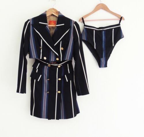 VIVIENNE WESTWOOD 1994 Double Breasted jacket cors