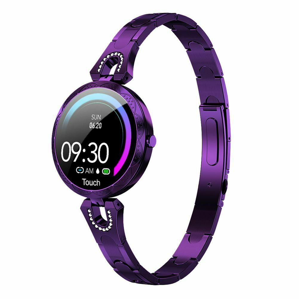 Women Ladies Smart Watch Heart Rate Fitness Tracker Bracelet for iPhone Android bracelet Featured fitness for heart ladies rate smart tracker watch women