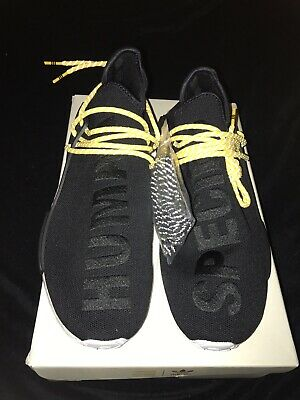 best service 6a0d4 dead3 Adidas NMD HU Pharrell Human Race Core Black Brand New 100% Authentic Size  12 | eBay