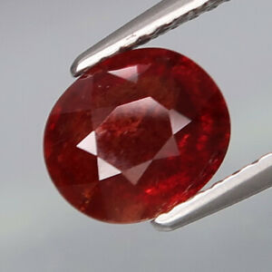 1-86Ct-UNHEATED-Precious-Gem-amp-Best-Color-Hot-Red-Ruby-Winza-Tanzania