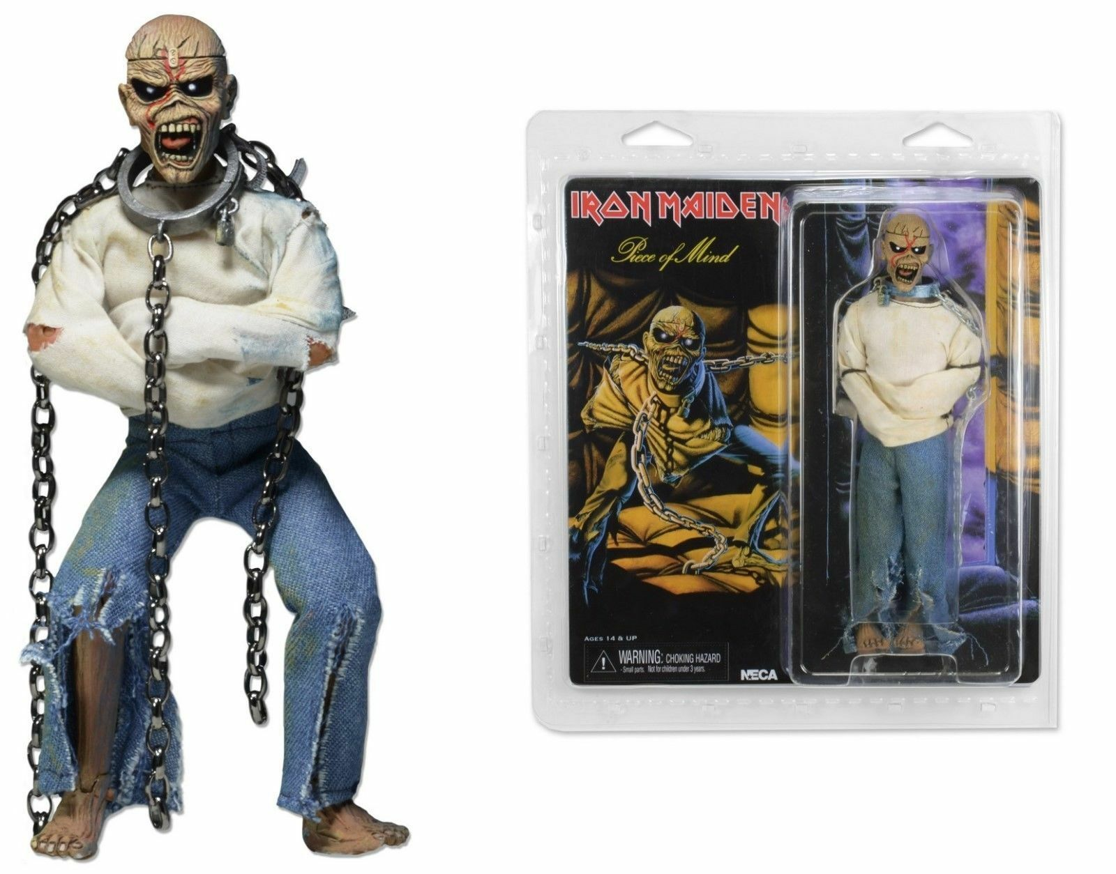 Iron Maiden - Piece of Mind Clothed 20cm Figure