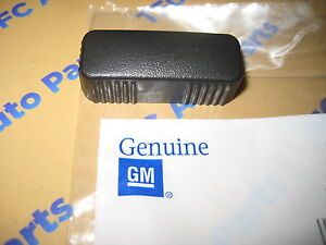 OEM NEW Power Seat Recliner Knob Switch Black 99-07 GM Trucks /& SUVs 19122219