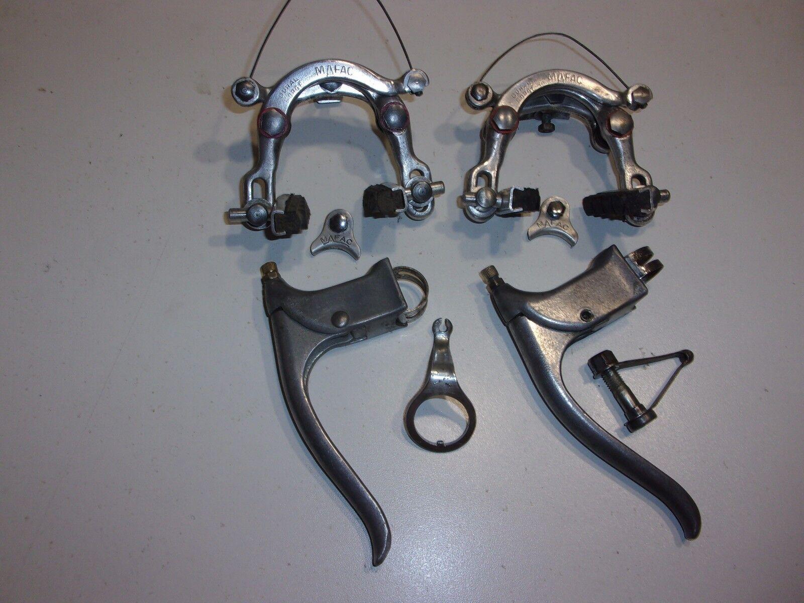 Freins Mafac dural forge old brakes levers made in France vintage pontet arrière