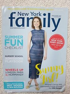 Details About New York Family Magazine May June 2017 Unbreakable Kimmy Schmidt Ellie Kemper