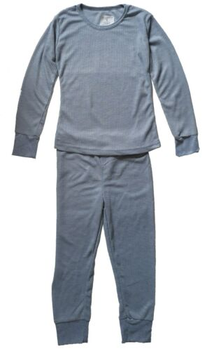 Boy/'s Thermal Pajama 2 Piece Set 100/% Cotton Comfortable Warm Sizes S-XL New