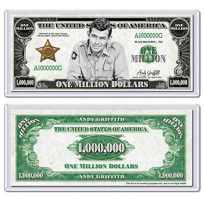 Thomas Tank Engine Train Million Dollar Bill Fake Funny Money Note FREE SLEEVE