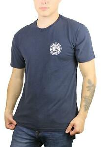 Brixton-Mens-Rival-II-Stardard-Fit-Short-Sleeve-T-Shirt-Washed-Navy-White-M-New