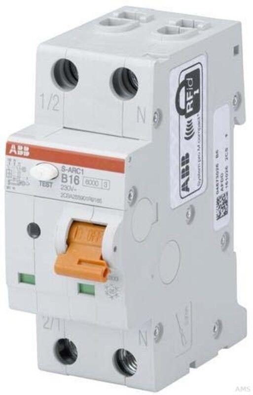 ABB Stotz s-arc1 brandschutzschalter B16, 6ka, 1p + N s-arc1 Stotz B16 95132f