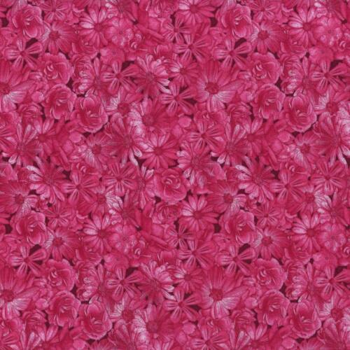 RJR Dan Morris Spring Symphony Pink Red Berry Floral Tone Rose Quilt Fabric 5B