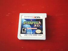 STARFOX 3D Nintendo 3DS game promo NTSC