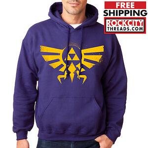 LEGEND-of-ZELDA-HOODIE-PURPLE-Triforce-Logo-Hoodie-Link-Hooded-Sweatshirt-Symbol