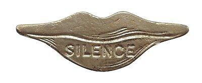 All-Seeing Eye Nickel-Plated Symbol For Orange Order Collarette