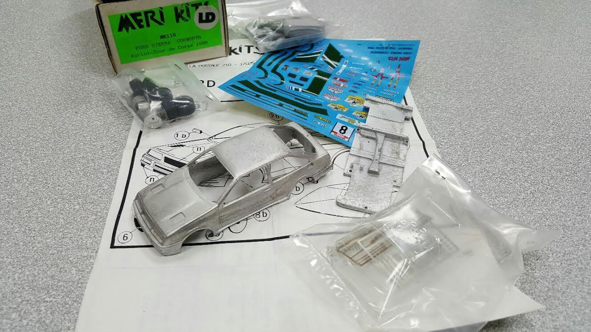 acquista online oggi Kit Ford Sierra Sierra Sierra Cosworth  8 Tour de Corse 1988 - Meri Kits modellos 1 43  Miglior prezzo
