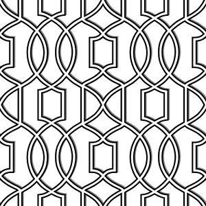 NuWallpaper-by-Brewster-NU1696-Uptown-Trellis-Black-White-Peel-amp-Stick-Wallpaper